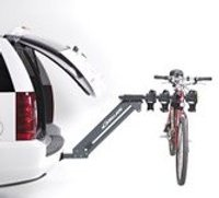 Pickup truck bicycle rack